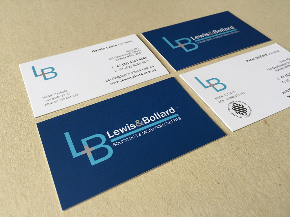 Business card logo duedesigns create a stylish corporate logo and business card design for a legal firm reheart Gallery